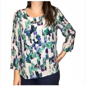 Broadway and Bloom silk blouse